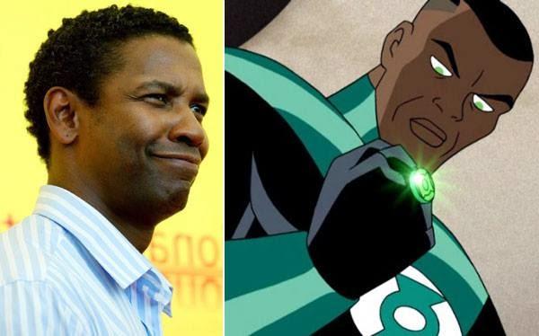 "Denzel Washington podría ser ""Linterna verde"" en ""Batman vs. Superman"""