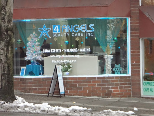 4 Angels Beauty Care, Inc. on Burrard St in Vancouver