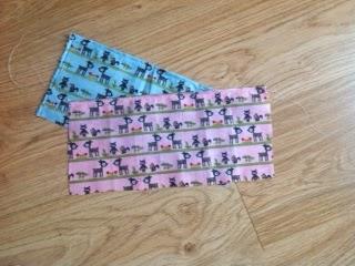 Mini Hostess Apron - tutorial & pattern