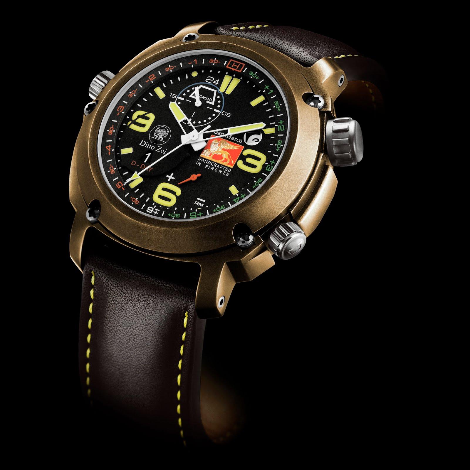 Oceanictime a new bronze diver age borealis watch - Bronze dive watch ...