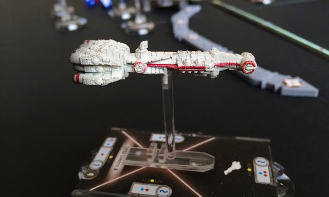 Star Wars Armada Review CR90 Corvettte