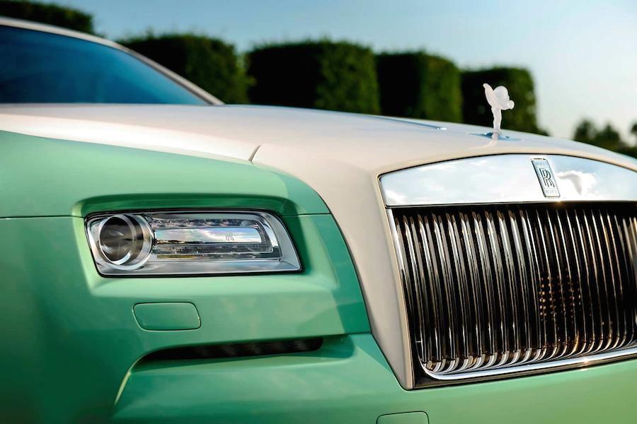 全部が緑色!英国の起業家が特注した「ロールスロイス・レイス」がスゴい