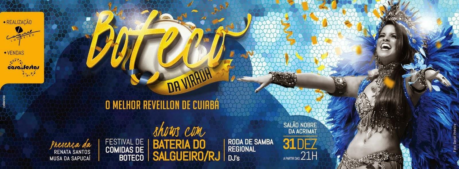 Renata Santos está no Reveillon em Cuiabá.