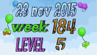 Angry Birds Friends Tournament level 5 Week 184