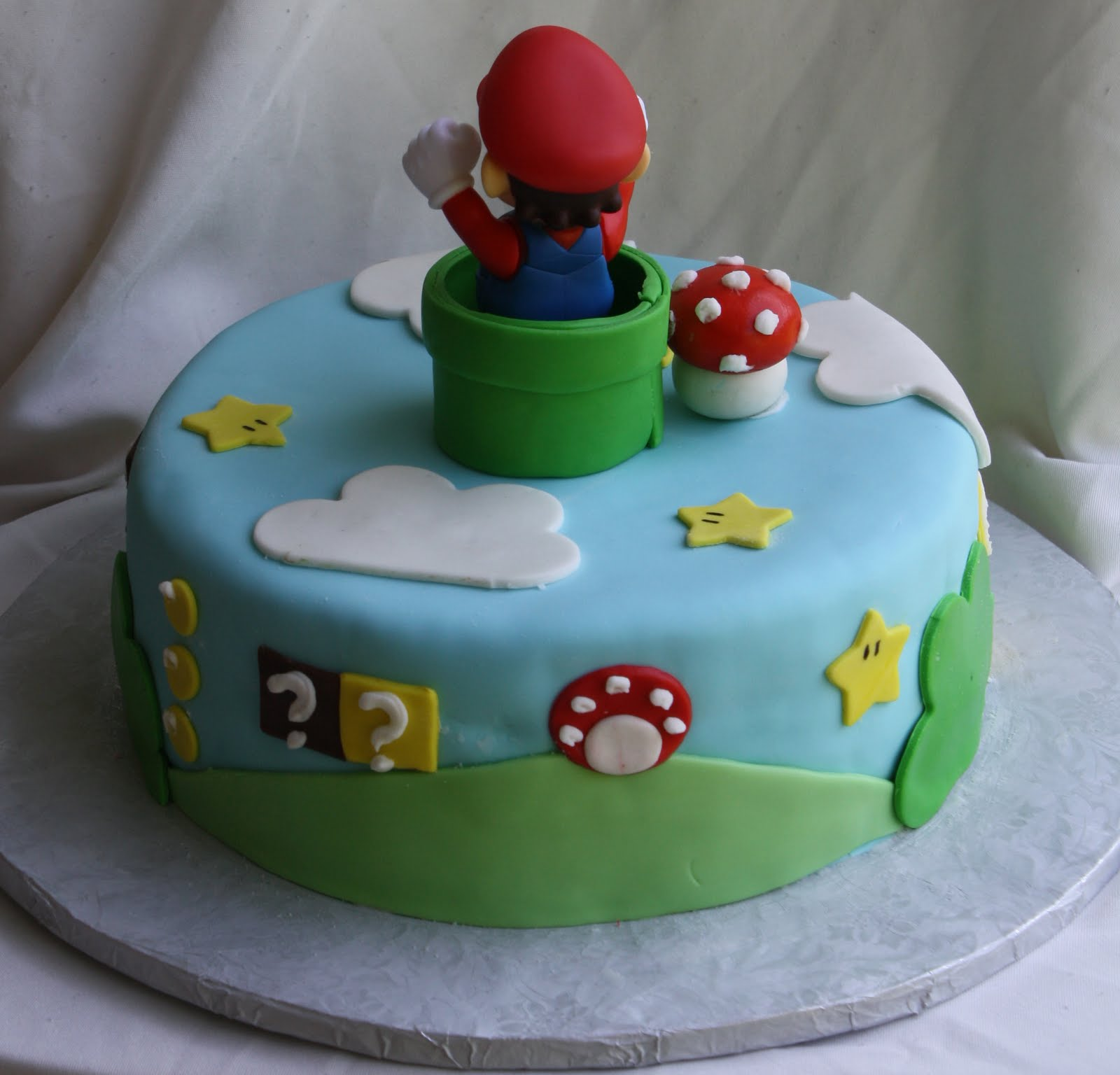 Pictures Of Mario Brothers Cakes