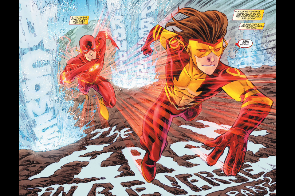 The New 52 Flash: The Flash #21