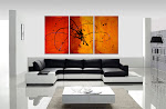 ORIGINAL ABSTRACT PAINTING &quot;IN THE BEGINNING&quot; ONLY $250 &amp; SHIPPING IS FREE!