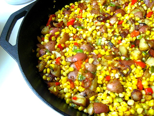 Stacey Snacks: Jersey Corn Hash