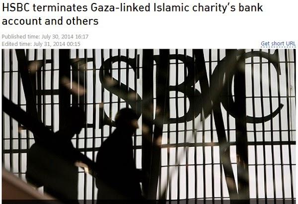 HSBC Batalkan Akaun Bank Pertubuhan Islam Yang Salurkan Bantuan Kepada Penduduk Gaza