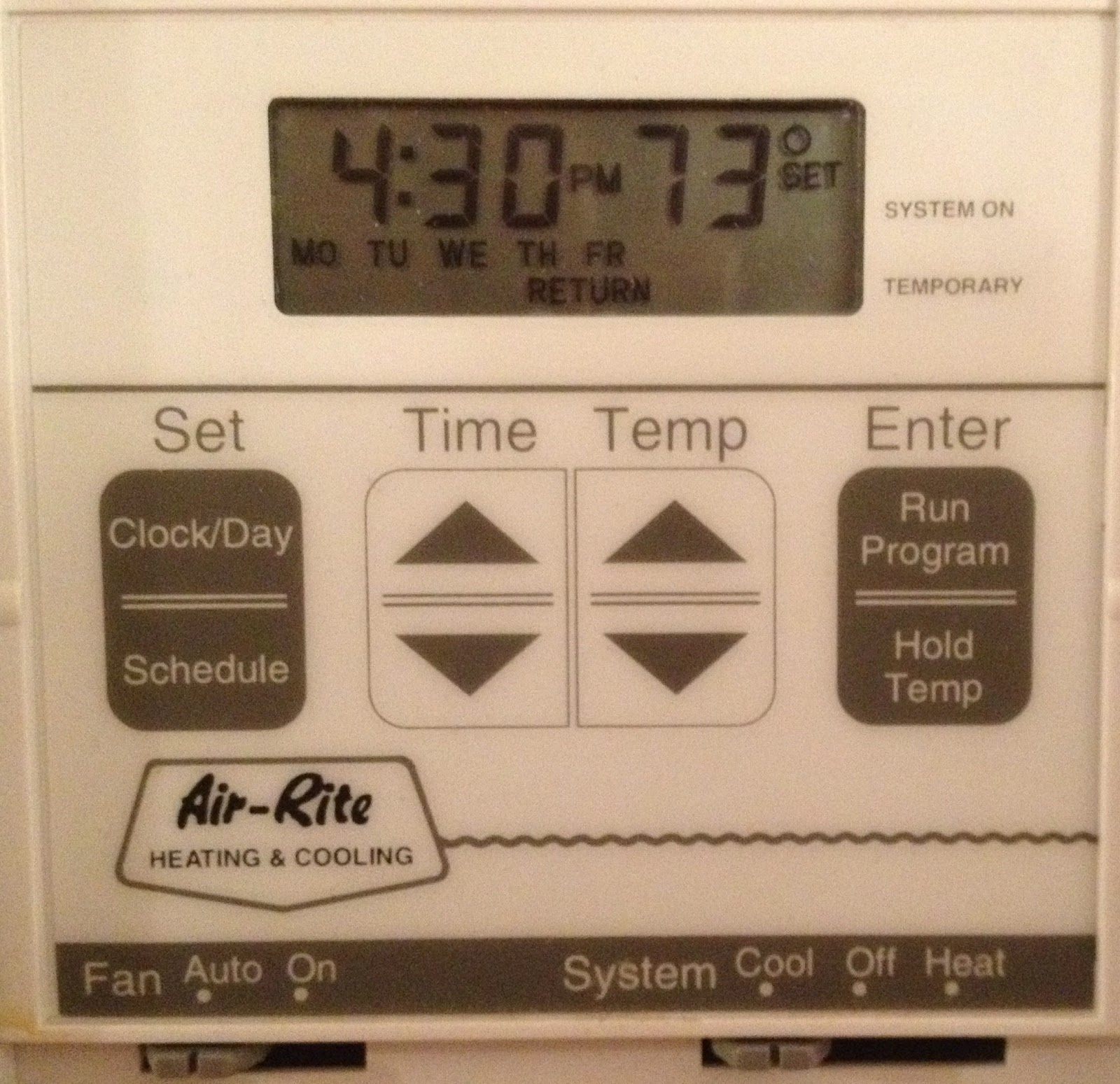 Thermostat photos honeywell older How to