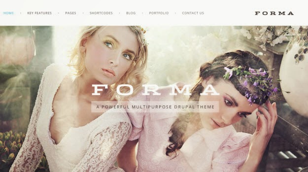 Fashion, Photogrpahy Drupal Theme