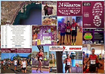 XXIV Media Maratón Ciudad de Málaga. 21,097 Km.