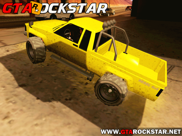 GTA SA - Karin Rebel 4x4 Convertido do GTA V
