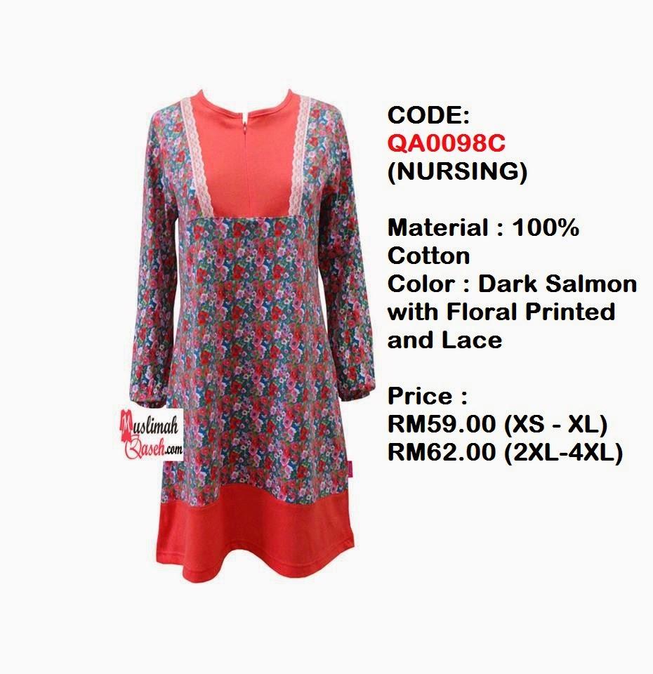 T-Shirt-Muslimah-Qaseh-QA0098C
