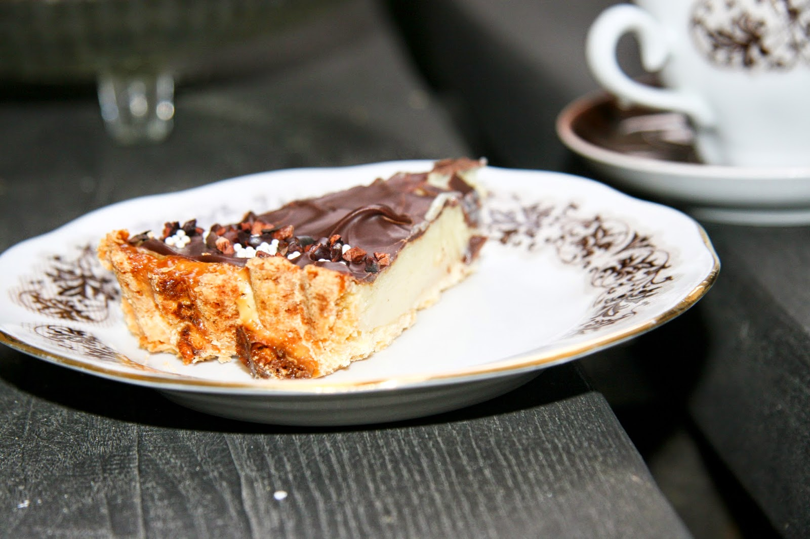 condensed milk tarte