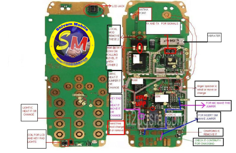 shivam mobile  nokia repairing diagrams for all lay outnokia all lay out