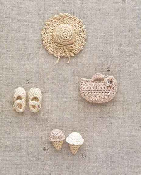 Miniaturas em crochet