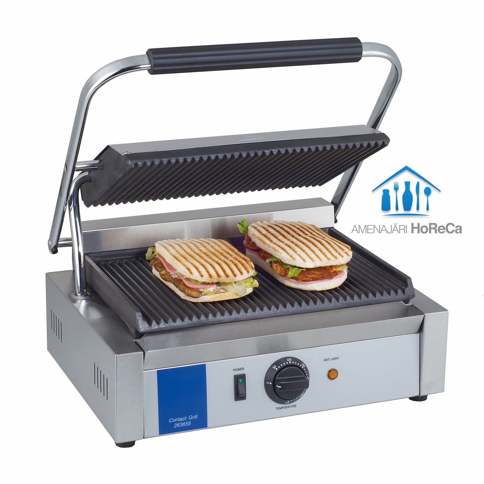 Contact Grill, Model Mediu, Utilaje Fast Food, Pret Contact Grill