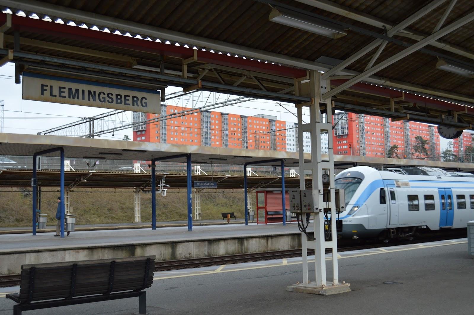 frisör flemingsberg station