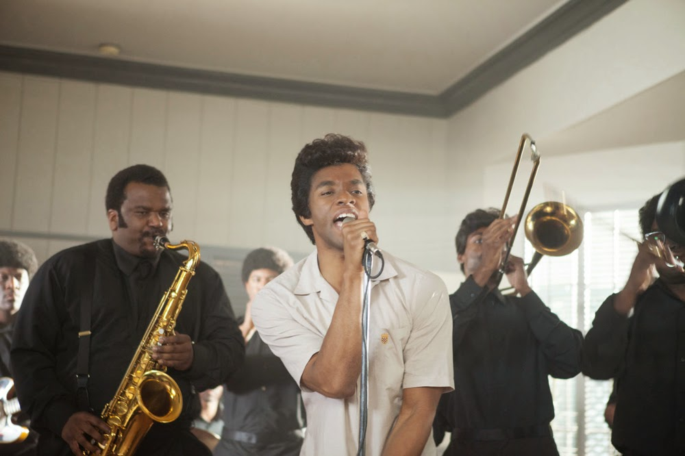 Chadwick Boseman and Craig Robinson in Get On Up