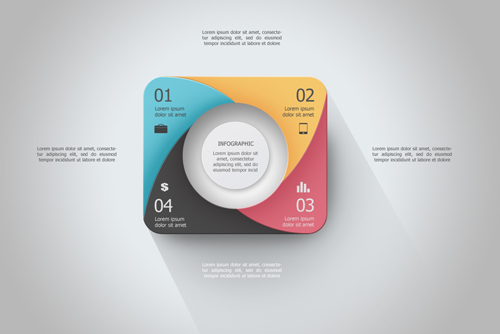 Photoshop Tutorial Graphic Design Infographic Rounded Circle