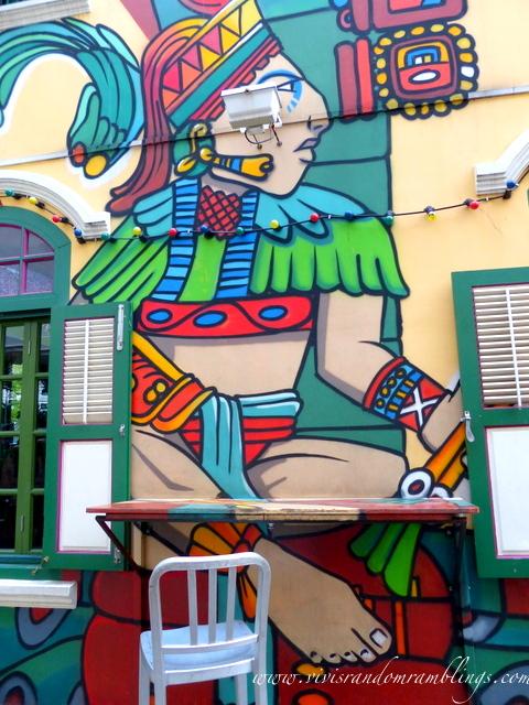 street art at Piedra Negra