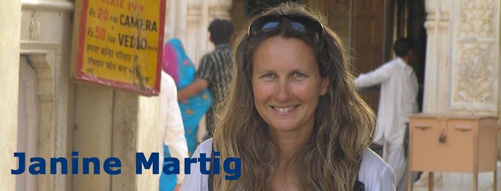 Janine Martig's CV