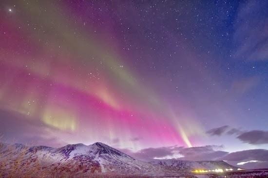 Badai Matahari Menerpa Bumi, Aurora Terbentuk di Eropa