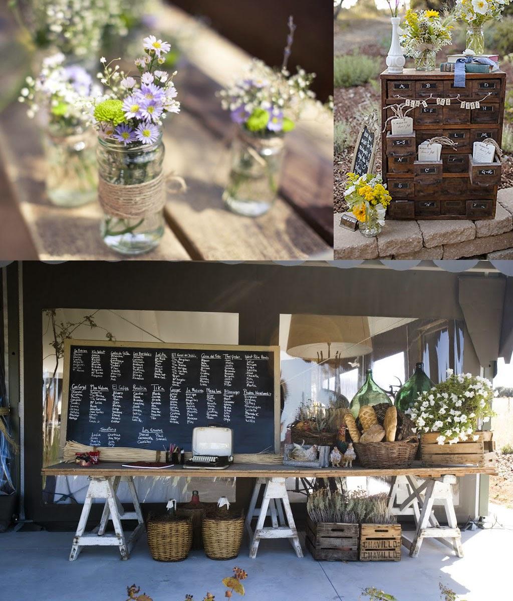 Matrimonio Rustico Como : Flower pot diseño bodas rusticas