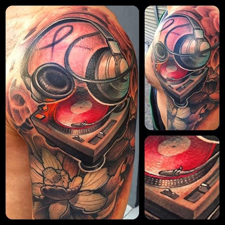 Tatuaje de Dj