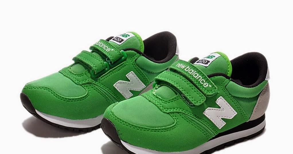new balance garcon vert