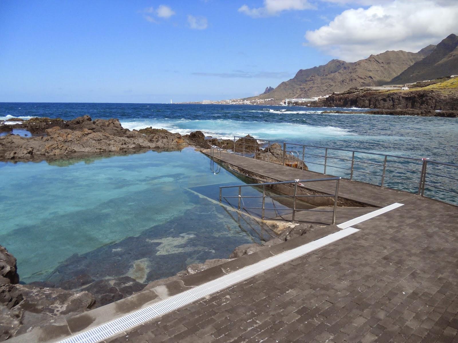Lugares de tenerife rincones piscina natural de j ver for Piscina natural tenerife