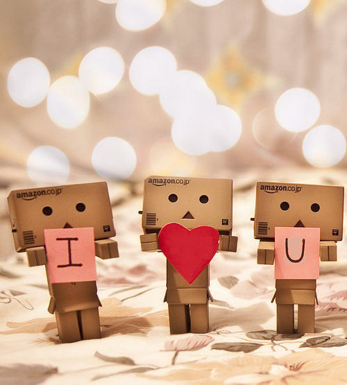 Boneka Teddy Bear Galau Danbo In Love