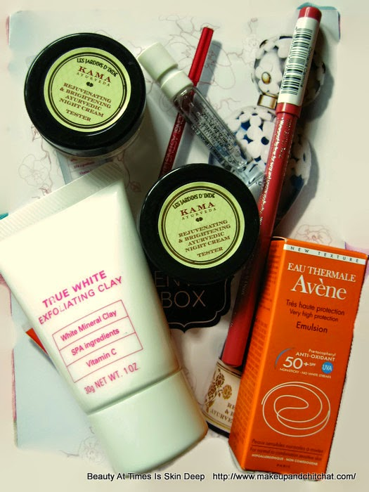 Samples of My Envy Box April 2015