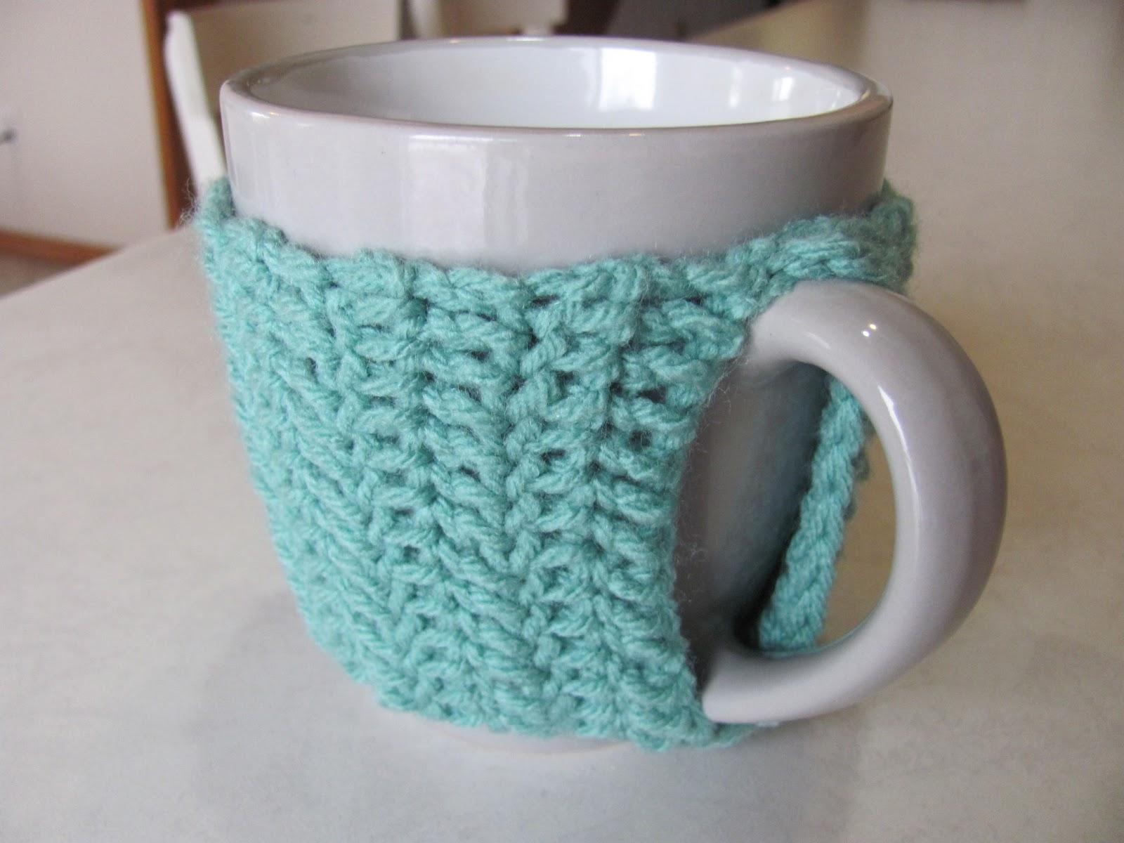 Twenty Something Granny Easy Crocheted Mug Cozy