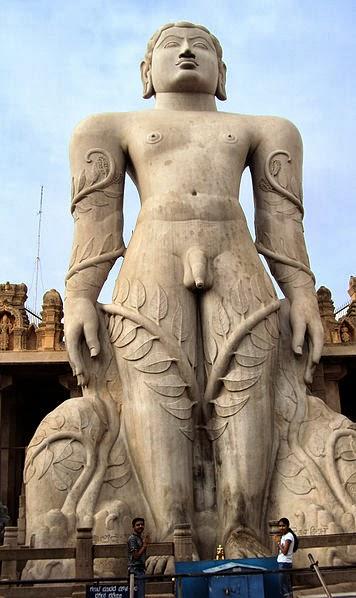 Tallest monolithic sculpture of the world-Gomateshwara Statue