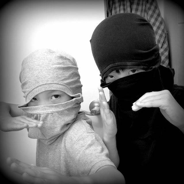 DIY ninjas