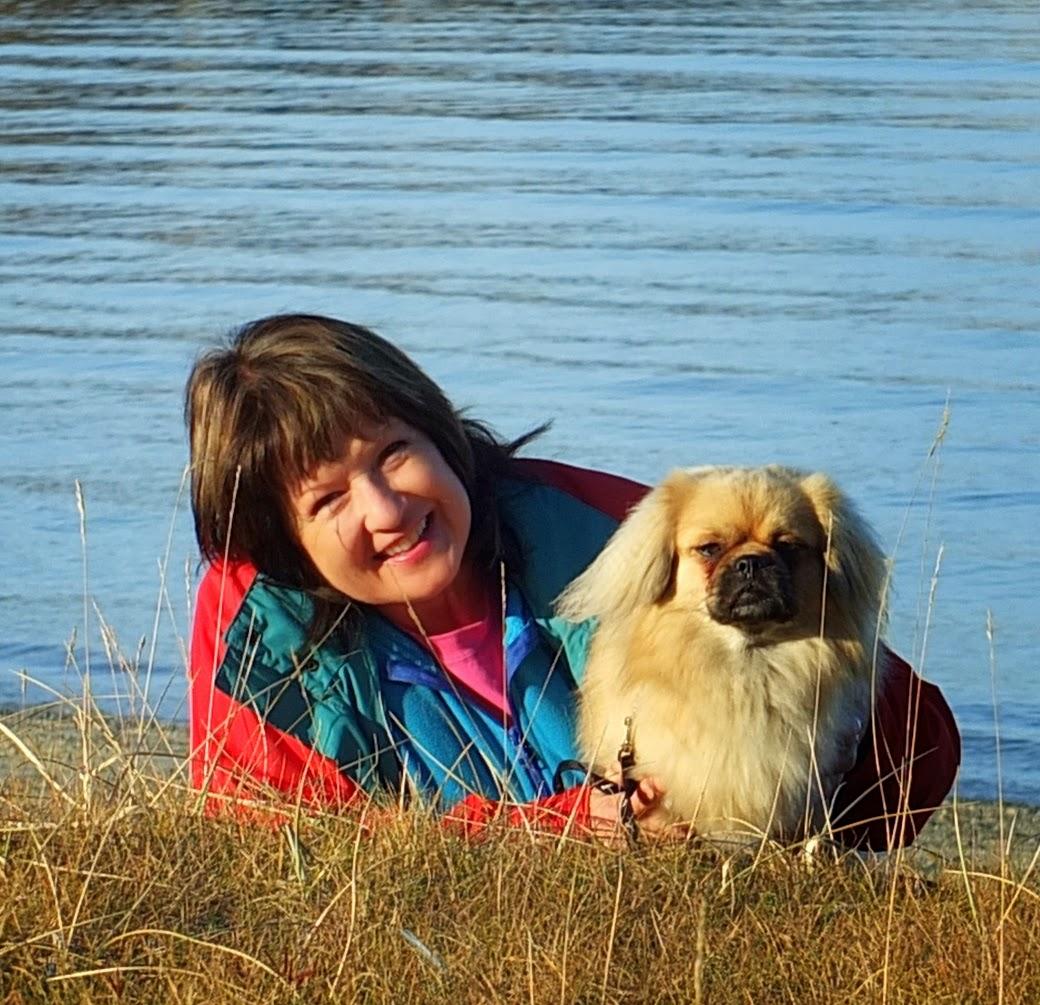 Meg og min flotte Import fra Estland, Fjordneck Partel. Vinni.