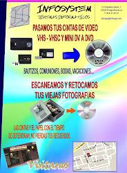 PASAMOS TUS VIDEOS A DVD
