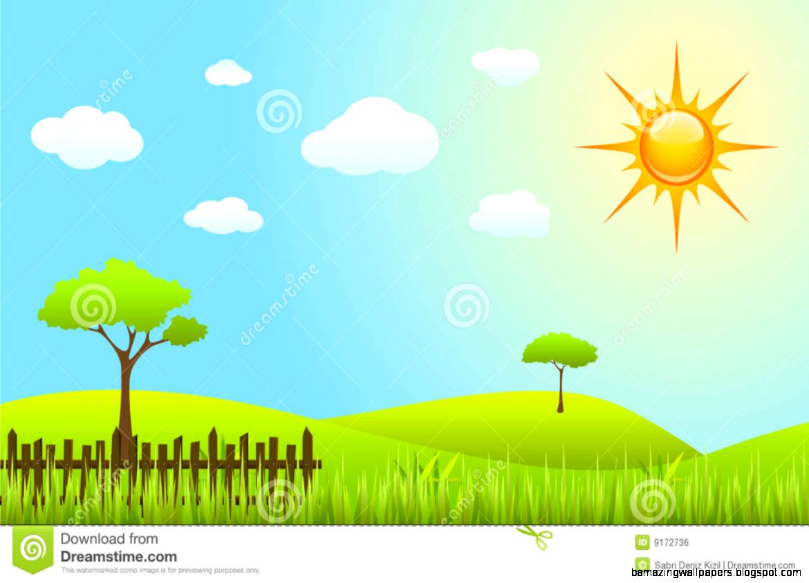 Spring Scenes Clipart   Clipart Kid