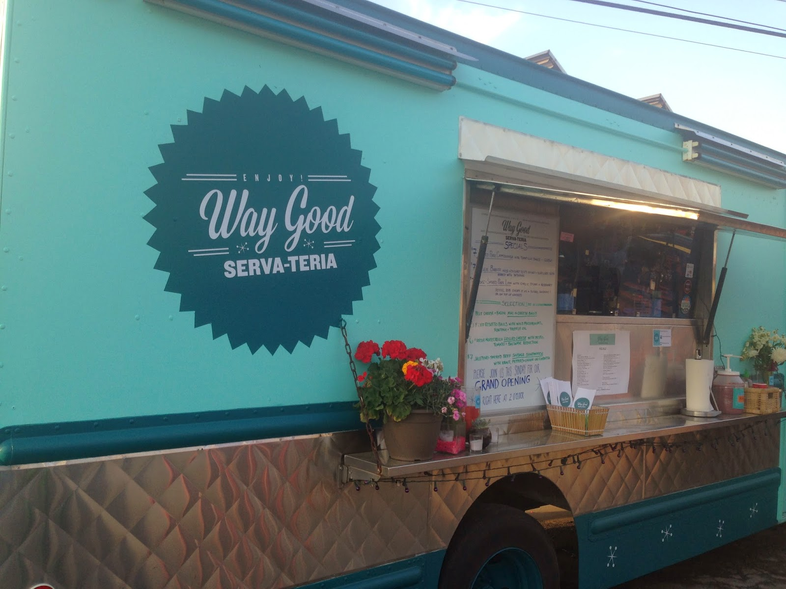 Way Good Serva-Teria, Food Truck Houston TX