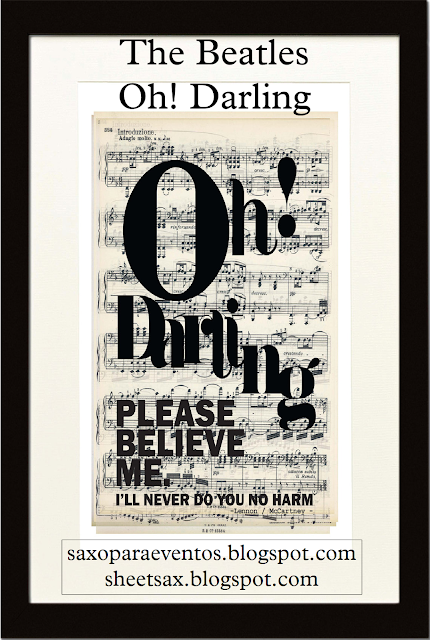 letra de oh darling the beatles: