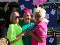 Sue and close friends at 2010 Relay for Life