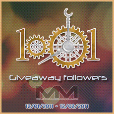 Giveaway 1001 Followers Mah@Mahu