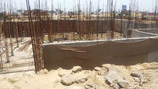 Golf Country, Yamuna Expressway :: Construction Status on July 2014:-Villa 100 sq yrd Block - F