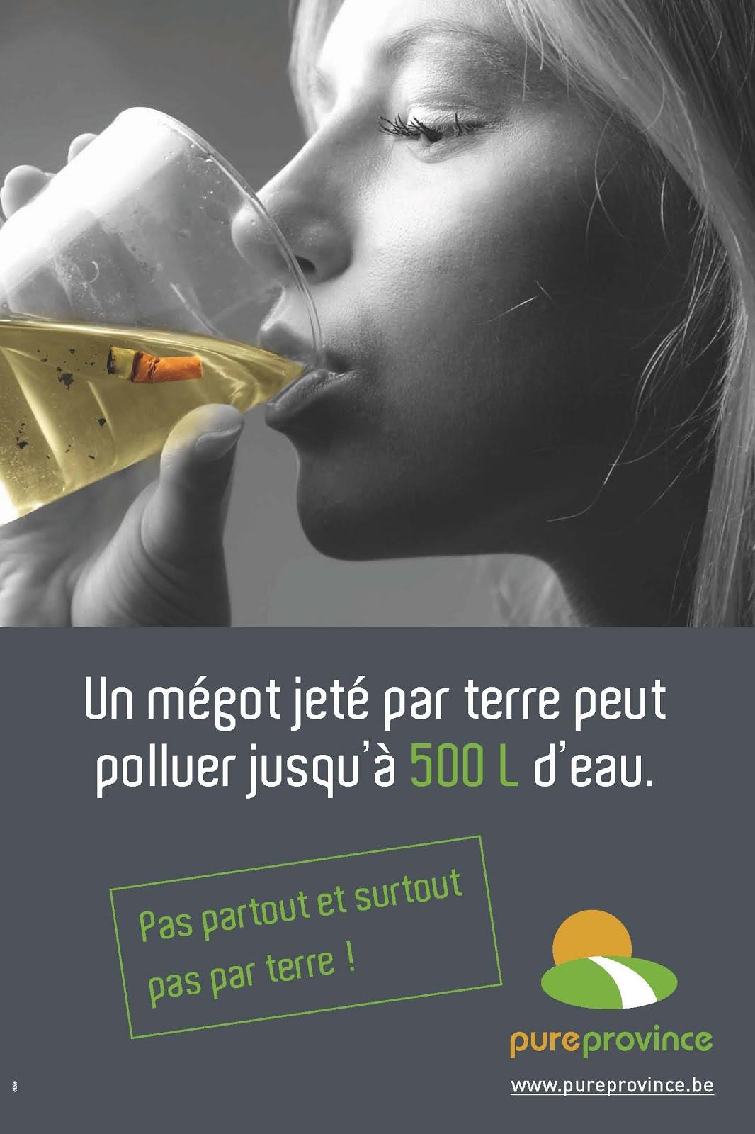 Très Campagne de sensibilisation sur la polution liée aux mégots de  HQ47