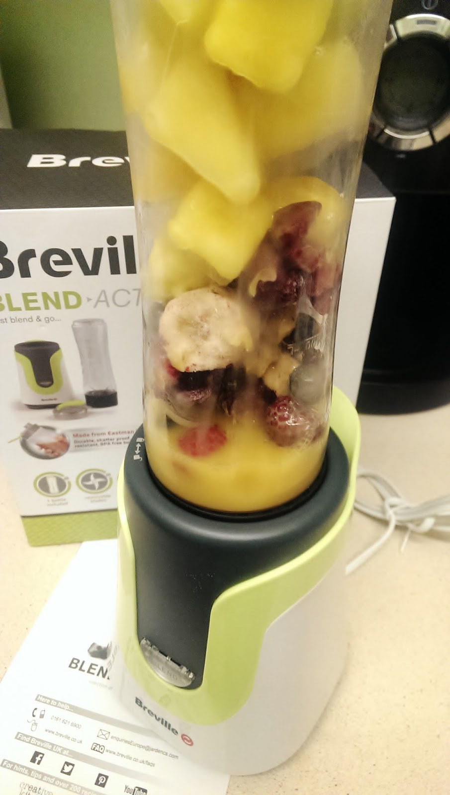 breville blend active review