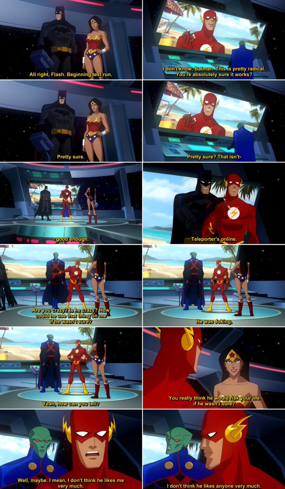 Justice League Crisis on Two Earths Quote-1