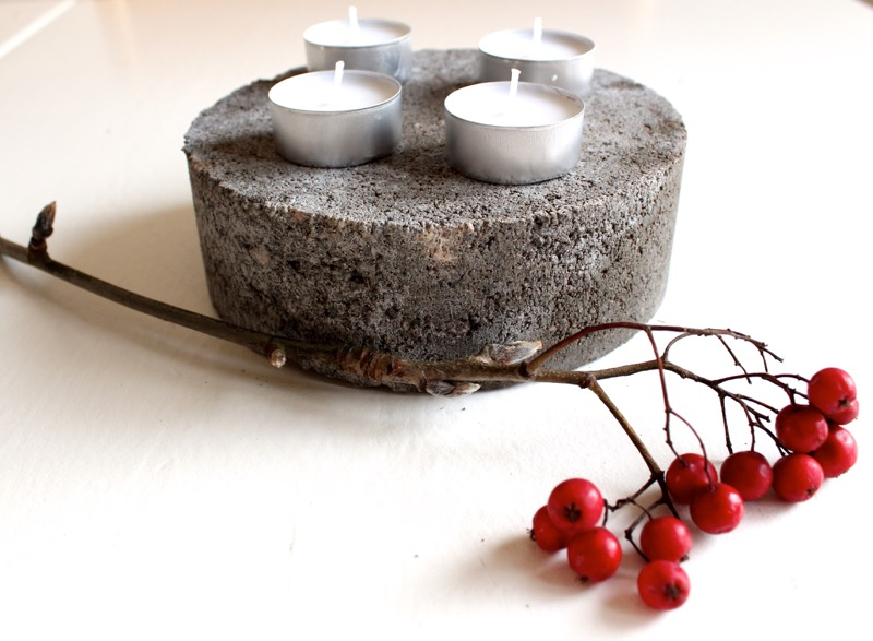 Betonic tealight holder