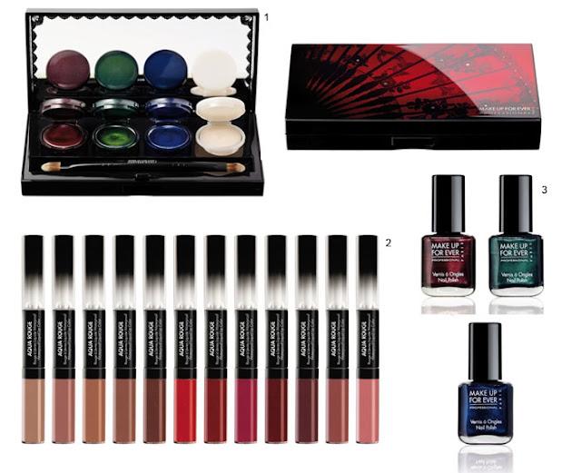 Make up for ever, black tango, maquilhagem, makeup